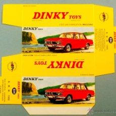 Coches a escala: DINKY TOYS 534 - B.M.W. BMW 1500 - CAJA VACÍA REPRO / REPRODUCCION NUEVA SIN USAR. Lote 47666776