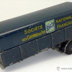 Coches a escala: REMOLQUE CAMIÓN SNFC PANHARD DINKY MECCANO MADE IN FRANCE 1/43. Lote 47677255