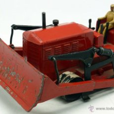 Model Cars - Excavadora Blaw Knox Bulldozer Dinky Supertoys Meccano con conductor 1/43 Made in France - 47797852