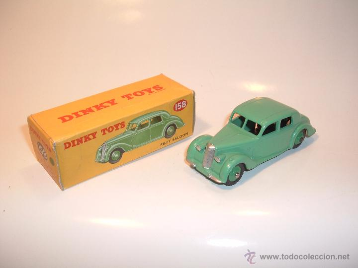 DINKY TOYS, RILEY SALOON, REF. 40A, 158, VITRINA, SIN JUGAR. (Juguetes - Coches a Escala 1:43 Dinky Toys)