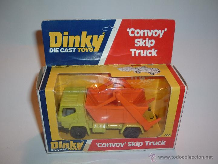DINKY TOYS , CONVOY SKIP TRUCK , REF. 380 (Juguetes - Coches a Escala 1:43 Dinky Toys)