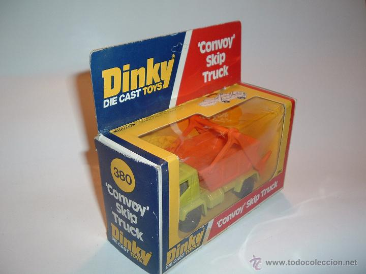 Coches a escala: DINKY TOYS , CONVOY SKIP TRUCK , REF. 380 - Foto 2 - 50073134