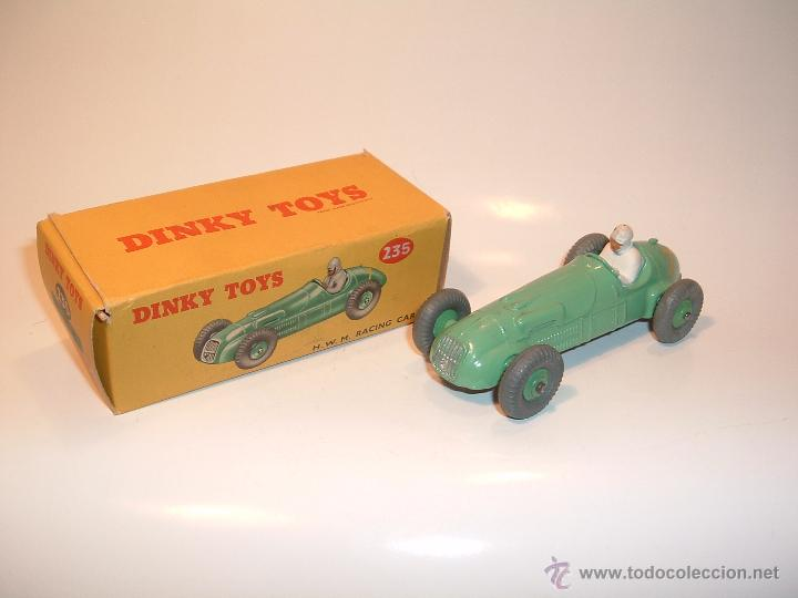 DINKY TOYS, BOLIDO H.W.M. RACING CAR, ORIGINAL, REF. 235 (Juguetes - Coches a Escala 1:43 Dinky Toys)