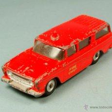 Coches a escala: DINKY TOYS 257 - NASH RAMBLER FIRE CHIEF COCHE DEL JEFE DE BOMBEROS - MECCANO VINTAGE 1961. Lote 50730504