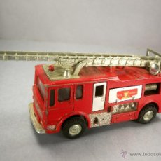 Coches a escala: DINKY TOYS 285 - MERRYWEATHER MARQUIS FIRE TENDER CAMION DE BOMBEROS - MECCANO VINTAGE 1970. Lote 50732038