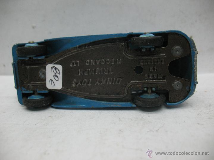 Coches a escala: Dinky Toys - Coche Triumph Meccano LTD fabricado en Inglaterra - Escala 1/43 - Foto 5 - 50913840