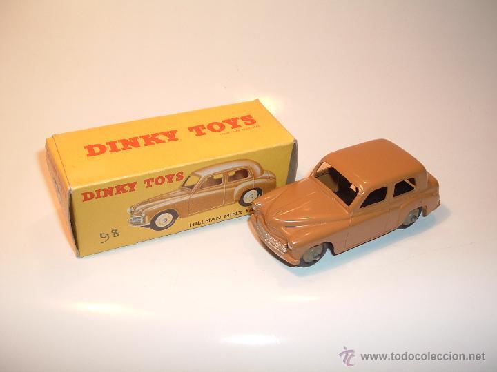 DINKY TOYS , HILLMAN MINX , 1954, ORIGINAL, REF 154, 40F. (Juguetes - Coches a Escala 1:43 Dinky Toys)