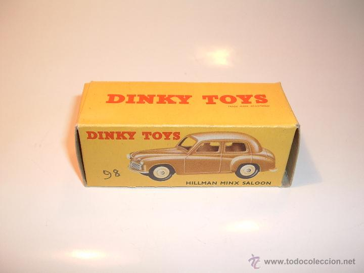 Coches a escala: DINKY TOYS , HILLMAN MINX , 1954, ORIGINAL, REF 154, 40F. - Foto 7 - 51518435