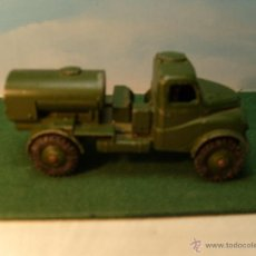 Coches a escala: DINKY DIECAST BRITISH TANKER TRUCK. VERY GOOD CONDITION. Lote 52770927
