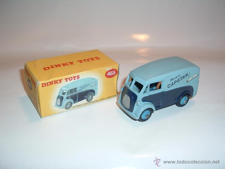 DINKY TOYS , MORRIS CAPSTAN VAN, ORIGINAL , REF. 465 (Juguetes - Coches a Escala 1:43 Dinky Toys)