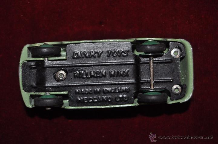 Coches a escala: DINKY TOYS HILLMAN MINX-MADE IN ENGLAND -MECCANO LTD - Foto 6 - 140461226