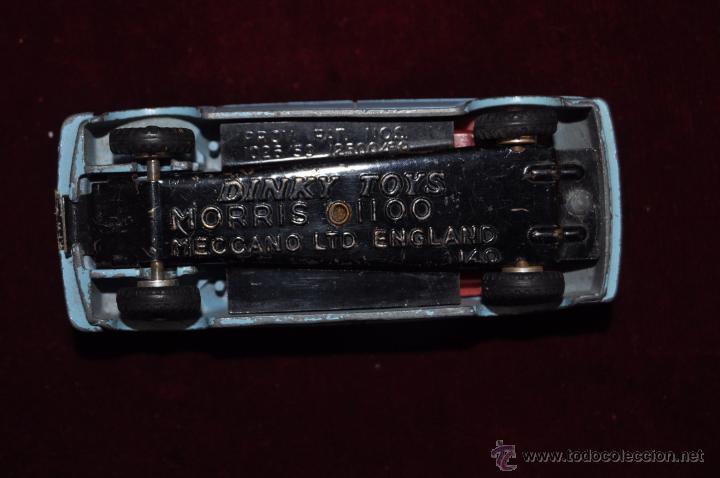 Coches a escala: COCHE DINKY TOYS. MORRIS 1100. MECCANO (ENGLAND) - Foto 6 - 53057831