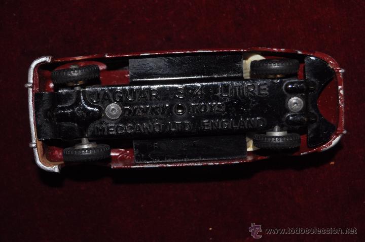 Coches a escala: ANTIGUO DINKY TOYS. JAGUAR 3-4 LITRE. MECCANO LTD (ENGLAND) - Foto 6 - 53058478