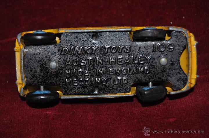 Coches a escala: DINKY TOYS. AUSTIN HEALEY 109. MECCANO LTD (ENGLAND) - Foto 6 - 53059387