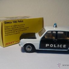 Coches a escala: SIMCA 1100 POLICE DE DINKY TOYS MADE IN SPAIN. Lote 53180654