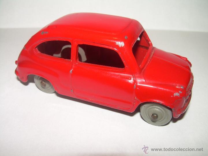 Coches a escala: ANTIGUO COCHE FIAT 600..ESCALA 1/43...DINKY TOYS...Nº 183... ENGLAND. - Foto 3 - 54228172