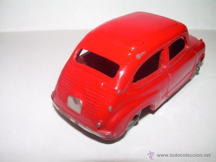 Coches a escala: ANTIGUO COCHE FIAT 600..ESCALA 1/43...DINKY TOYS...Nº 183... ENGLAND. - Foto 4 - 54228172