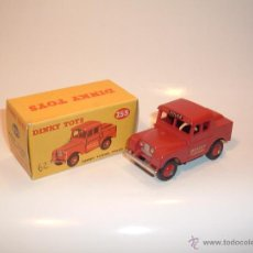 Coches a escala: DINKY TOYS , MERSEY TUNNEL POLICE VAN, LAND-ROVER, REF. 255. Lote 54271173