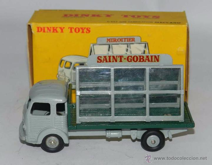SIMCA CARGO MIROITIER, REF. 33, WITH ITS ORIGINAL BOX DINKY TOYS, MECCANO, MADE IN FRANCE, AÑOS 1950 (Juguetes - Coches a Escala 1:43 Dinky Toys)