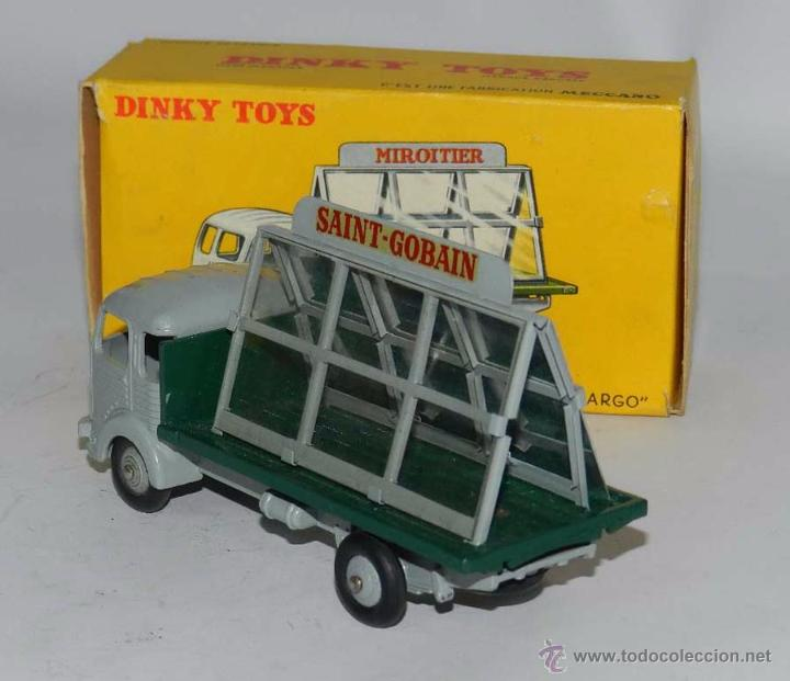Coches a escala: SIMCA CARGO MIROITIER, REF. 33, WITH ITS ORIGINAL BOX DINKY TOYS, MECCANO, MADE IN FRANCE, AÑOS 1950 - Foto 2 - 54388139
