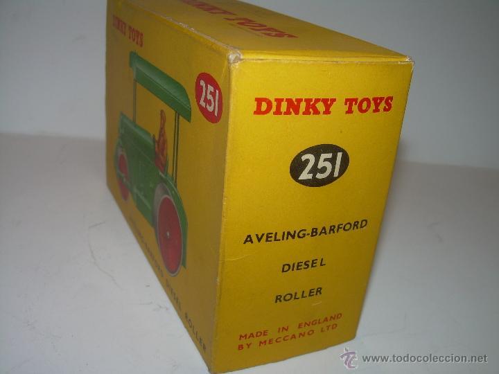 Coches a escala: DINKY TOYS.......AVELIN BARFORD..DIESEL ROLLER....NUEVO CON CAJA ORIGINAL....ESCALA 1/43 - Foto 5 - 54394408
