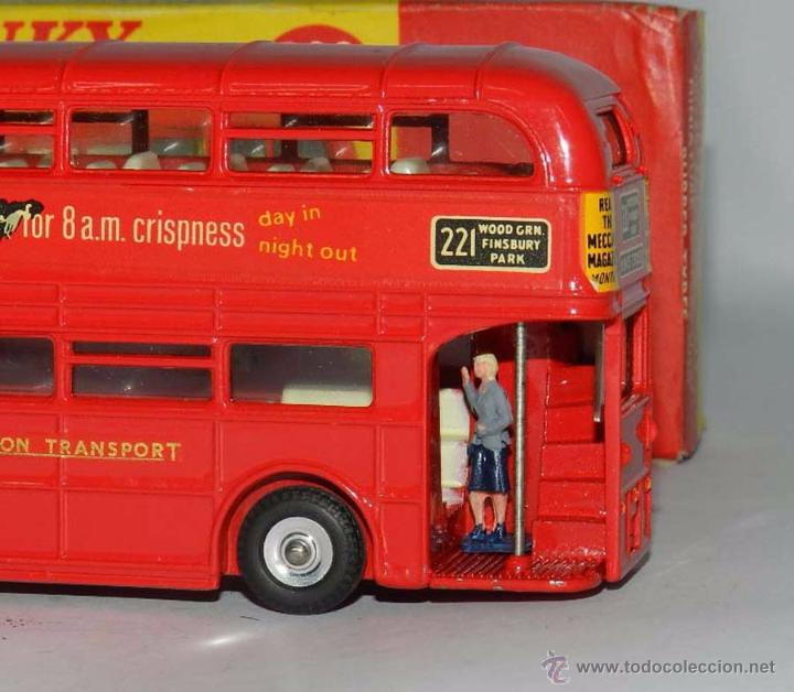 Coches a escala: Double Decker Routemaster Bus Tern Shirts Diecast Metal Model, REF. 289, WITH ITS ORIGINAL BOX DINKY - Foto 6 - 54405850