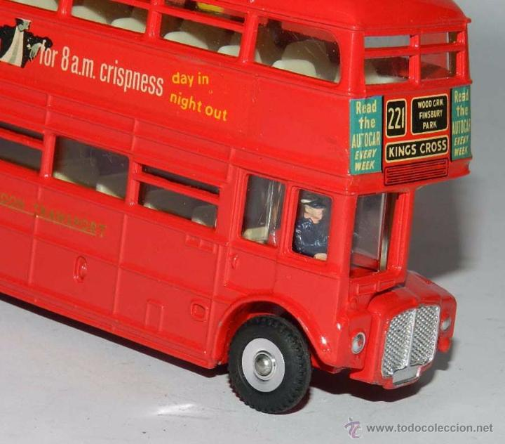 Coches a escala: Double Decker Routemaster Bus Tern Shirts Diecast Metal Model, REF. 289, WITH ITS ORIGINAL BOX DINKY - Foto 7 - 54405850