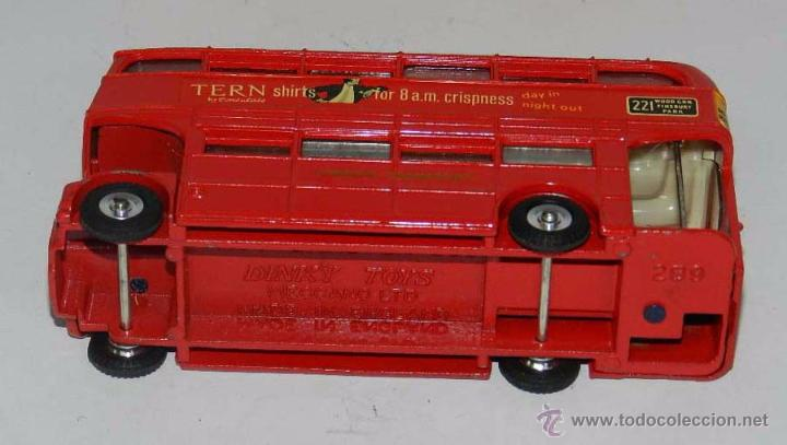Coches a escala: Double Decker Routemaster Bus Tern Shirts Diecast Metal Model, REF. 289, WITH ITS ORIGINAL BOX DINKY - Foto 8 - 54405850