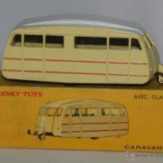 Coches a escala: CARAVANE, REF. 811, WITH ITS ORIGINAL BOX DINKY TOYS, MECCANO, MADE IN FRANCE, AÑOS 1950 / 60, COMPL. Lote 54406336