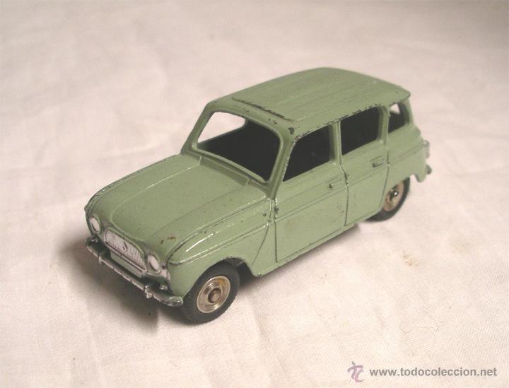 RENAULT 4 L SEDÁN - MECCANO MECANO SERIE 100, AÑO 1962 . (Juguetes - Coches a Escala 1:43 Dinky Toys)