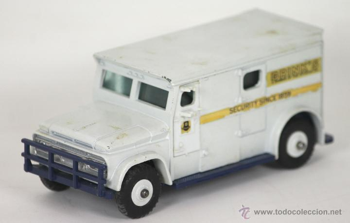 BRINKS ARMOURED CAR SECURITY EN METAL. DINKY TOYS. ESCALA 1/43. REF 275. (Juguetes - Coches a Escala 1:43 Dinky Toys)