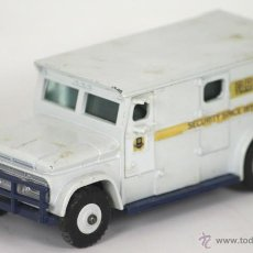 Coches a escala: BRINKS ARMOURED CAR SECURITY EN METAL. DINKY TOYS. ESCALA 1/43. REF 275.. Lote 54779890