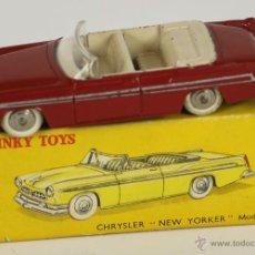 Coches a escala: DINKY TOYS. MODELO 24A. CHRYSLER NEW YORKER. 1955. FRANCIA. 1955.. Lote 52864217