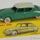 Coches a escala: DINKY TOYS. MODELO 24C. CITROEN DS 19. CAJA ORIGINAL. COLOR VERDE. 1950.. Lote 52875449