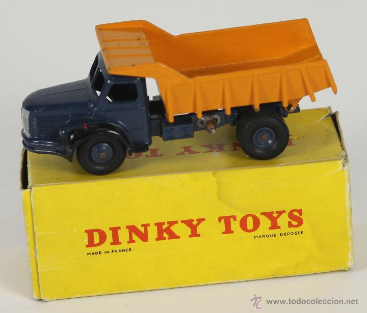 DINKY TOYS. MODELO 34A. BERLIET BENE CARRIERES. CAJA ORIGINAL. 1950-1960. (Juguetes - Coches a Escala 1:43 Dinky Toys)