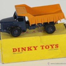 Coches a escala: DINKY TOYS. MODELO 34A. BERLIET BENE CARRIERES. CAJA ORIGINAL. 1950-1960.. Lote 52876187
