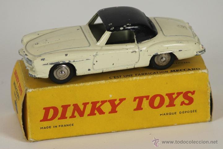 DINKY TOYS. MODELO 24H. MERCEDES 190 SL. CAJA ORIGINAL. 1958. (Juguetes - Coches a Escala 1:43 Dinky Toys)