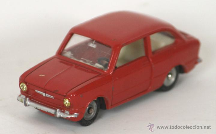 FIAT 850 EN METAL. DINKY TOYS. ESC 1/43. REF 509. MADE IN FRANCE. (Juguetes - Coches a Escala 1:43 Dinky Toys)