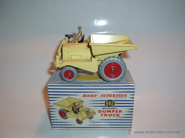DINKY TOYS , SUPERTOYS , MUIR-HILL DUMPER TRUCK , REF. 562 , 962. (Juguetes - Coches a Escala 1:43 Dinky Toys)