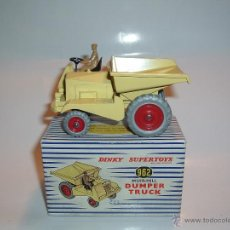 Coches a escala - DINKY TOYS , SUPERTOYS , MUIR-HILL DUMPER TRUCK , REF. 562 , 962. - 54976363