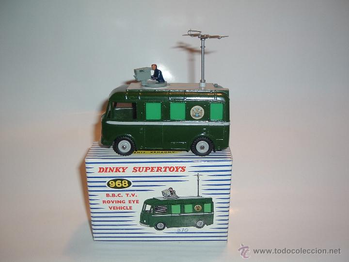 DINKY TOYS , B.B.C. T.V. ROVING EYE VEHICLE , REF. 968 (Juguetes - Coches a Escala 1:43 Dinky Toys)