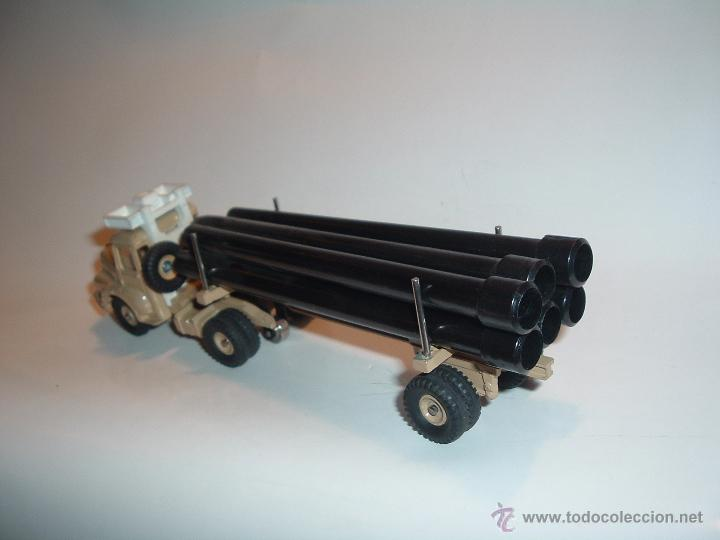 Coches a escala: DINKY TOYS , TRACTEUR UNIC SAHARIEN, UNIC PIPE TRUCK, REF. 39B 893. - Foto 5 - 54977550