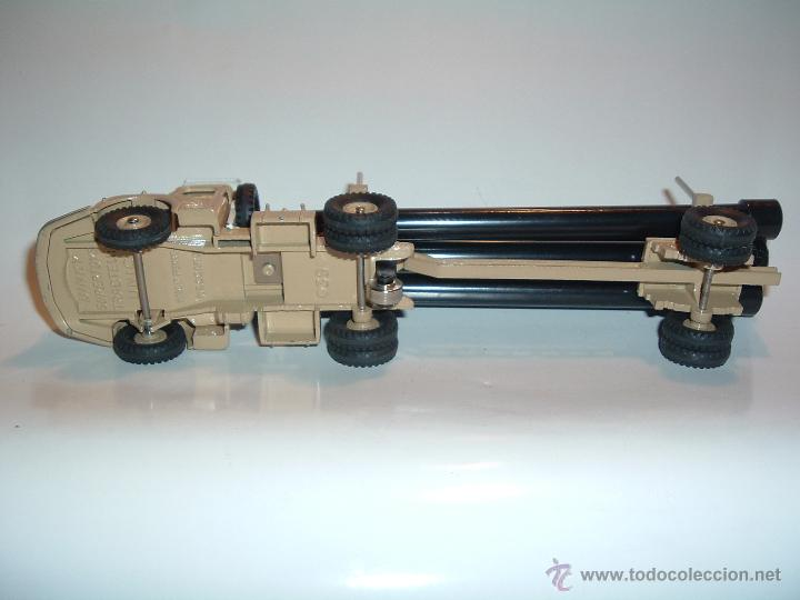Coches a escala: DINKY TOYS , TRACTEUR UNIC SAHARIEN, UNIC PIPE TRUCK, REF. 39B 893. - Foto 6 - 54977550