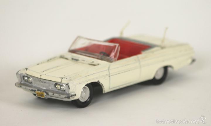 Coches a escala: PLYMOUTH FURY EN METAL. DINKY TOYS. ESC 1/43. REF 115. MADE IN ENGLAND. - Foto 1 - 163077141