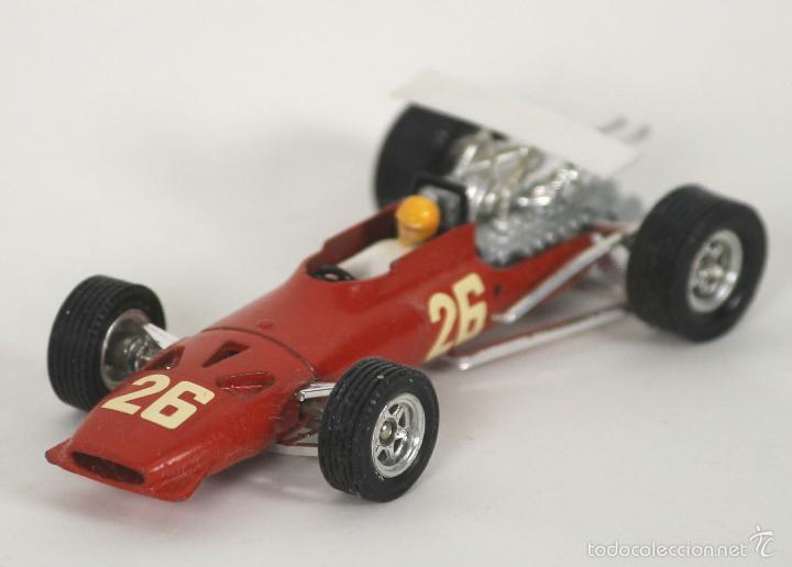 FERRARI V12 F1 EN METAL. DINKY TOYS, ESC 1/43. REF 1422. MADE IN FRANCE. (Juguetes - Coches a Escala 1:43 Dinky Toys)