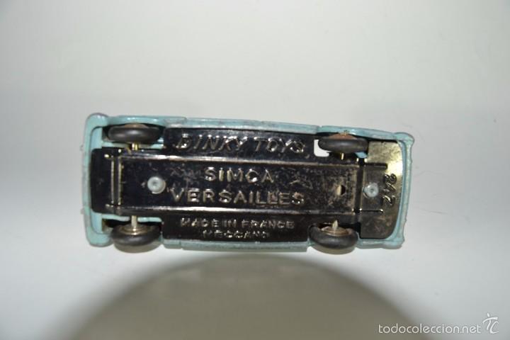 Coches a escala: DINKY TOYS SIMCA VERSAILLES - Foto 4 - 56027795