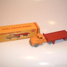 Coches a escala: DINKY TOYS DUBLO , BEDFORD ARTICULATED FLAT TRUCK , REF. 072. Lote 56183150
