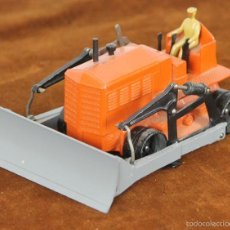 Coches a escala: BULLDOZER BLAW KNOX EN METAL. DIKNY SUPERTOYS. ESC 1/43. REF 885. MADE IN FRANCE. Lote 56472524