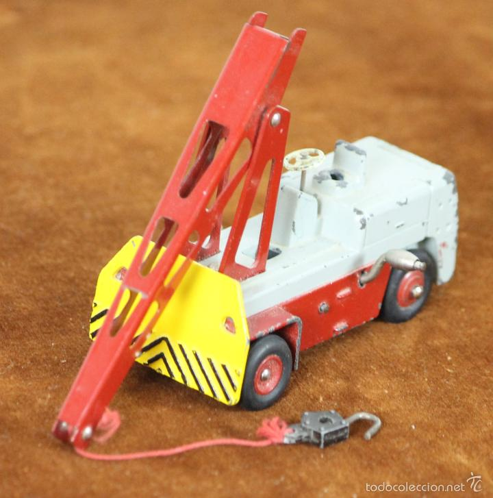 GRÚA GRUE SALEV EN METAL. DINKY TOYS. ESC 1/ 43. REF 50. MADE IN FRANCE. (Juguetes - Coches a Escala 1:43 Dinky Toys)