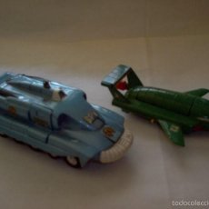Coches a escala: 2 NAVES ESPACIALES DINKY TOYS SPECTRUM PURSUIT VEHICLE (SPV) Y THUNDERBIRD 2. Lote 56515664